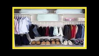 日本主婦是這樣整理衣櫃的!用這了些小技巧,有多少衣服都不怕! thumbnail