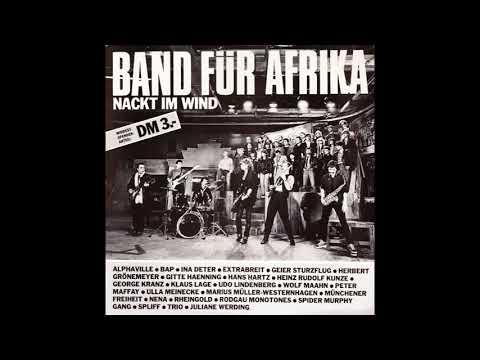 """Band Für Africa – """"Nacht Im Wind"""" (Instrumental) (Germany CBS) 1985"""