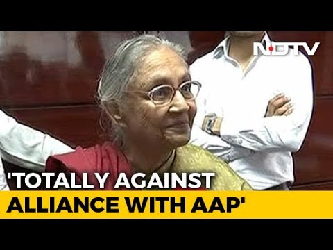 Against AAP Alliance, Will Go By Congress Choice: Sheila Dikshit To NDTV