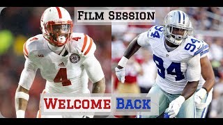 NFL Film Session || Randy Gregory Returns From Suspension || Dallas Cowboys