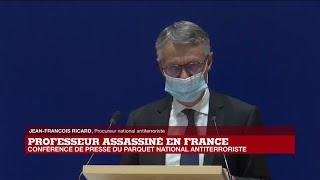 REPLAY - Assassinat de Samuel Paty : conférence de presse du Parquet national antiterroriste