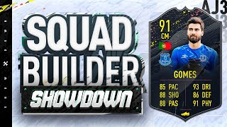 Fifa 20 Squad Builder Showdown!!! 91 RATED STORYLINE ANDRE GOMES!!!