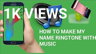 MY NAME RING TONE WITH MUSIC