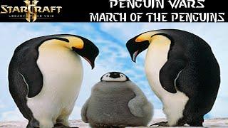 Penguin Wars - March of the Penguins - Starcraft 2 mod