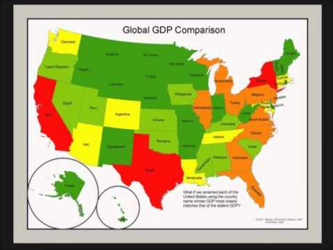 US State v Country GDP