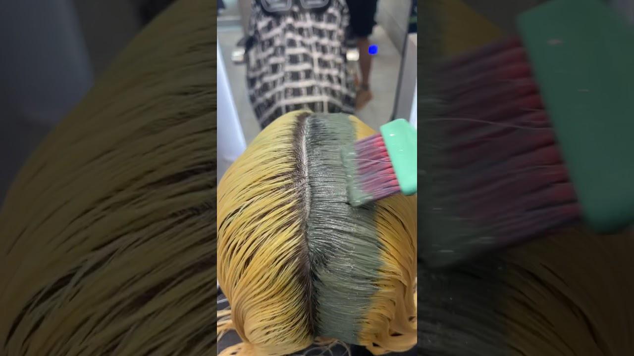 Nhuộm tóc màu xanh ngọc – Alin Trần Hair Tv | Bao quát những thông tin liên quan đến nhuôm tóc đẹp chuẩn nhất