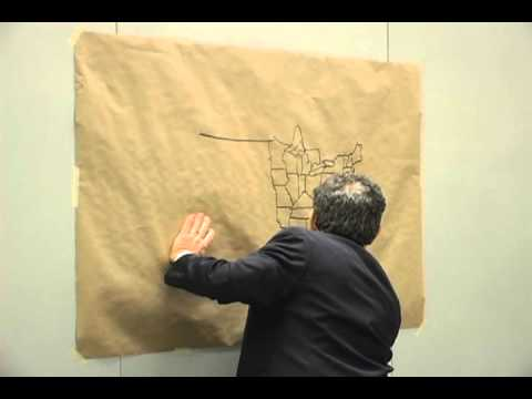 Al Franken draws U.S. map for Middle Schoolers [Original]