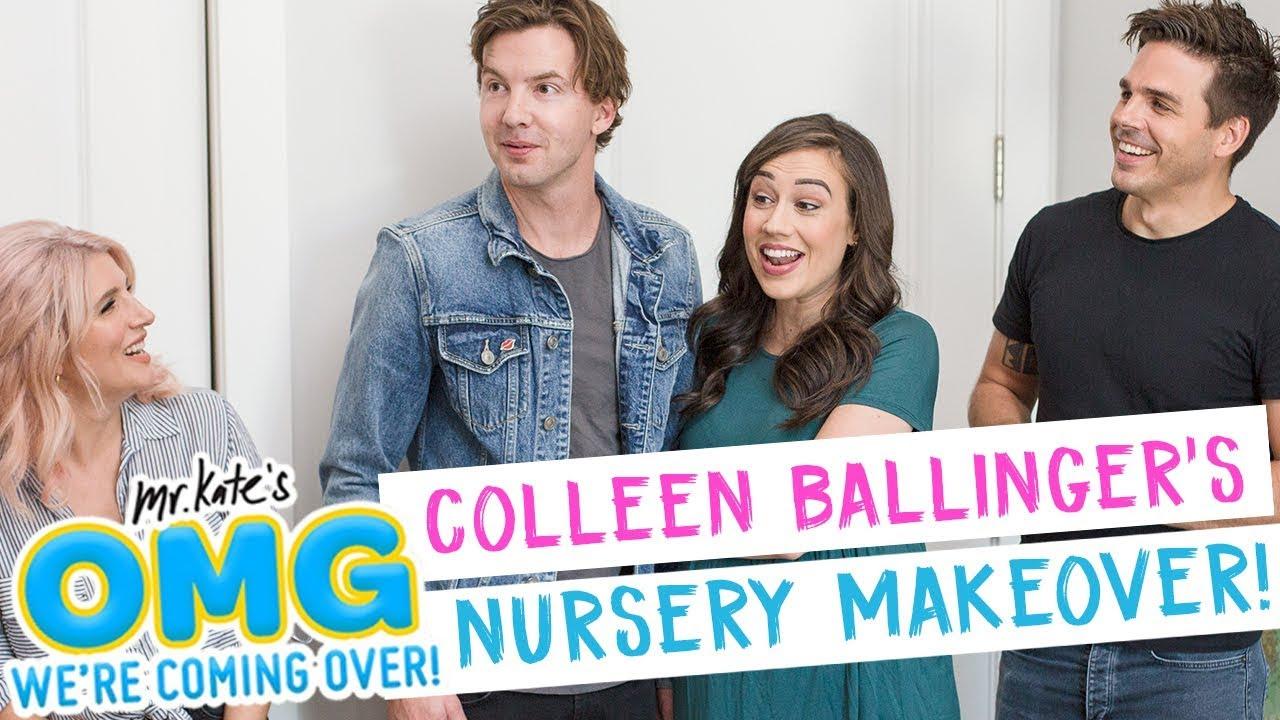 Colleen Ballinger's Nursery Makeover!