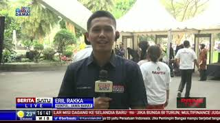Suasana Jelang Pidato Kebangsaan Visi Indonesia Jokowi-Ma'ruf