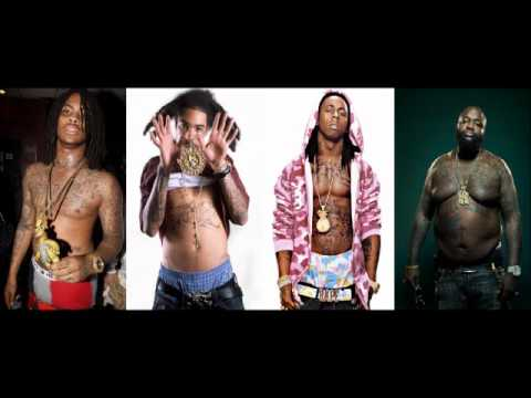 Gunplay ft. Rick Ross, Lil Wayne, Waka Flocka - Rollin' Remix (2012)