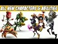 Plants vs Zombies Garden Warfare 2 All New Characters & Abilities