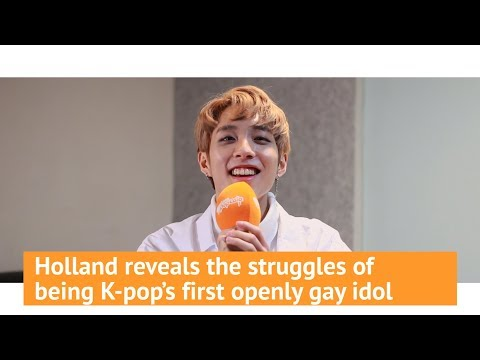Holland talks about being K-pop's first openly gay idol