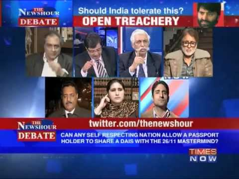The Newshour Debate: Is it Open Treachery by Yasin Malik? (The Full Debate)