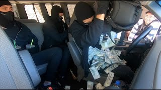 Bank Robbers in the Drive-Thru