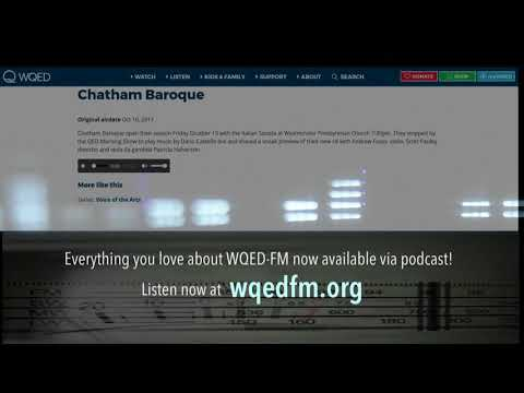 WQED-FM Podcasts!