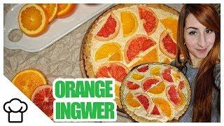 Orangen Ingwer Tarte - Gesund & Lecker!!