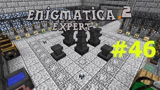Minecraft 1.12.2 Enigmatica 2 Expert Mode Skyblock #46 Advanced Rocketry Quest Gate
