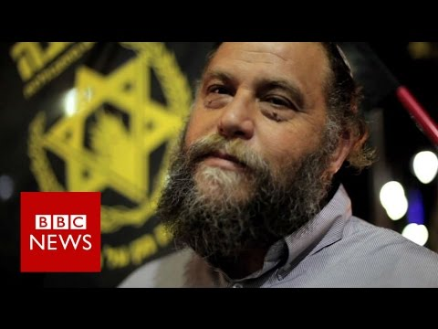 Jerusalem Jewish group's anti-Arab patrol - BBC News