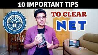 10 Important TIPS to Clear NET (NUST Entrance test) Easily
