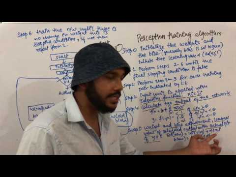 Soft Computing Lecture 15 Perceptron Training Algorithm