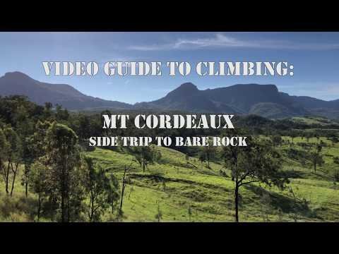 Mt Cordeaux Climbing Guide - 4k Drone Mavic Pro Footage iPhoneX