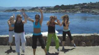 Waka Waka Response from Z Club Fitness in Monterey