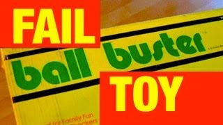 Ball Buster FAIL Toy Outtakes Toy Review by Mike Mozart of JeepersMedia and TheToyChannel