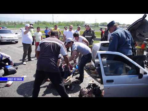 Авария на трассе М29 Кочубеевское СК