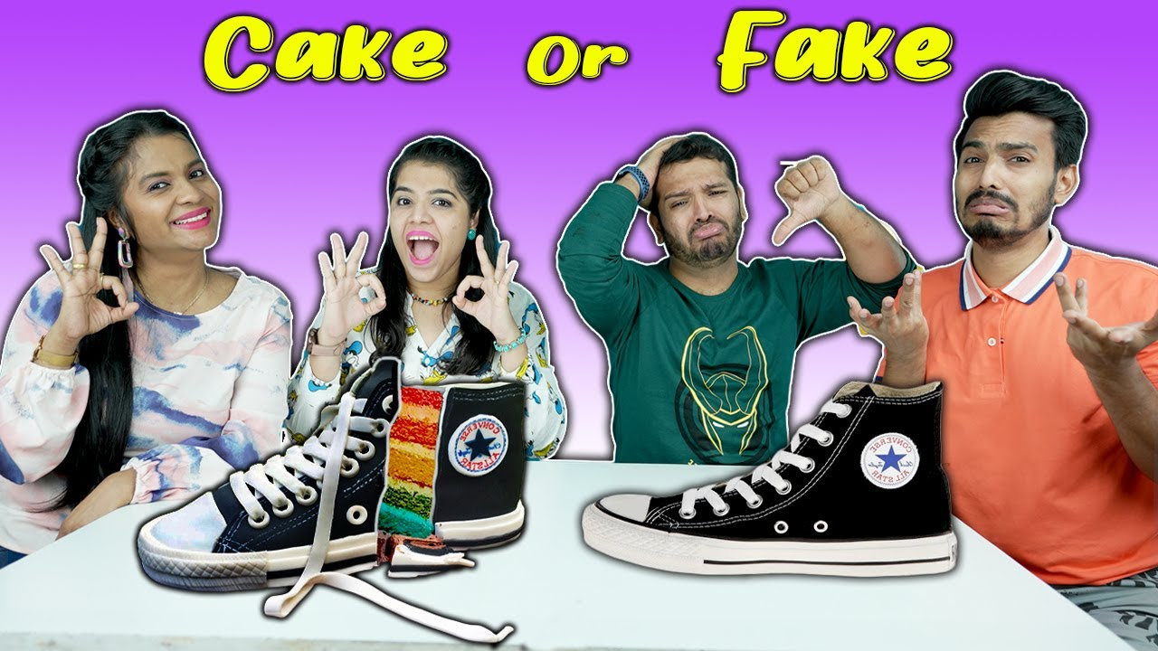 Cake Vs Fake Food Challenge | Awesome Cakes Eating Challenge | Hungry Birds