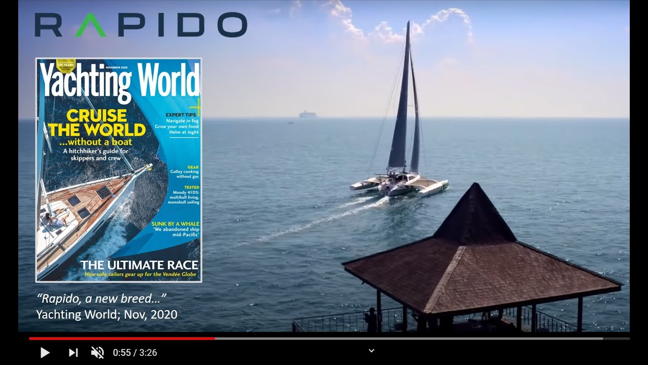"Video: ""New breed"" Rapido 40 & 50: Yachting World magazine"