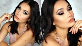 Edgy Rose Gold Makeup Tutorial | #tbt Urban Decay VICE 2 Palette
