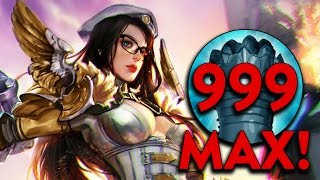 Vainglory Experiments #9 - Catherine's passive stacked to 999