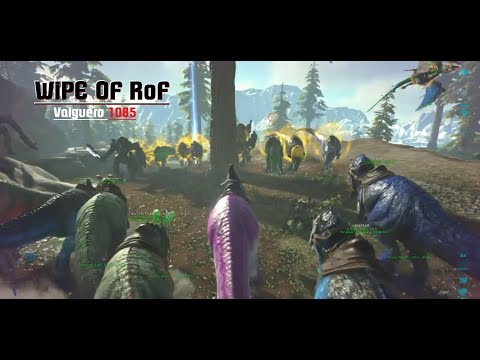 [Ark Official PvP Ps4] Ll Wipe Of Rise Of Fallen Ll Valguero1085