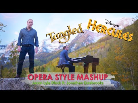 'Go The Distance' / Tangled Medley - Jason Lyle Black (ft. Jonathan Estabrooks)