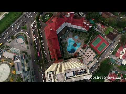 Fly over Yangon