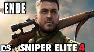 Sniper Elite 4 Gameplay German PS4 #12 - Das Ende - Let's Play Sniper Elite 4 Deutsch