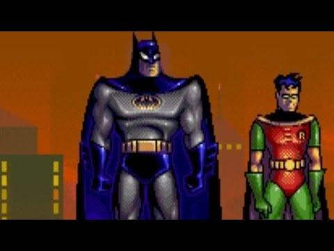 The Adventures Of Batman Robin Genesis Playthrough
