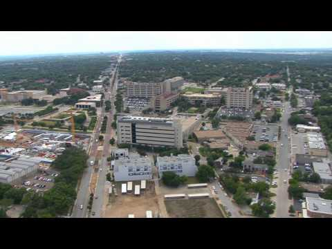 UNT Health Science Center Aerial Footage - May 2012