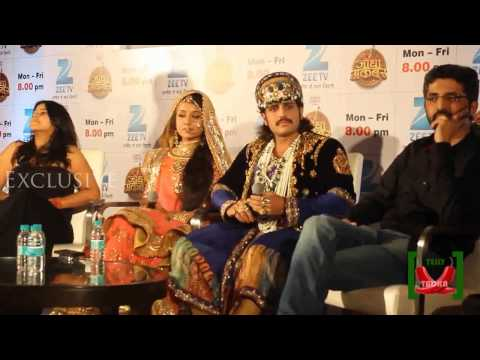 Jodha Akbar Press Conference - Rajat Tokas , Paridhi Sharma