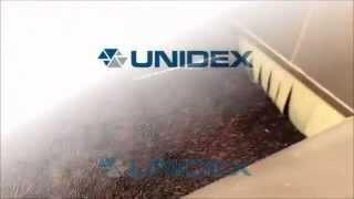 Unidex IQF Tunnel freezing chokeberries, Tunel zamrażalniczy Unidex zamrażanie aronii