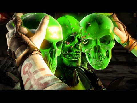 Mortal Kombat XL: Quan Chi's X-ray on All Kharacters  