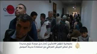 تحذيرات أممية من موجة نزوح جديدة في العراق