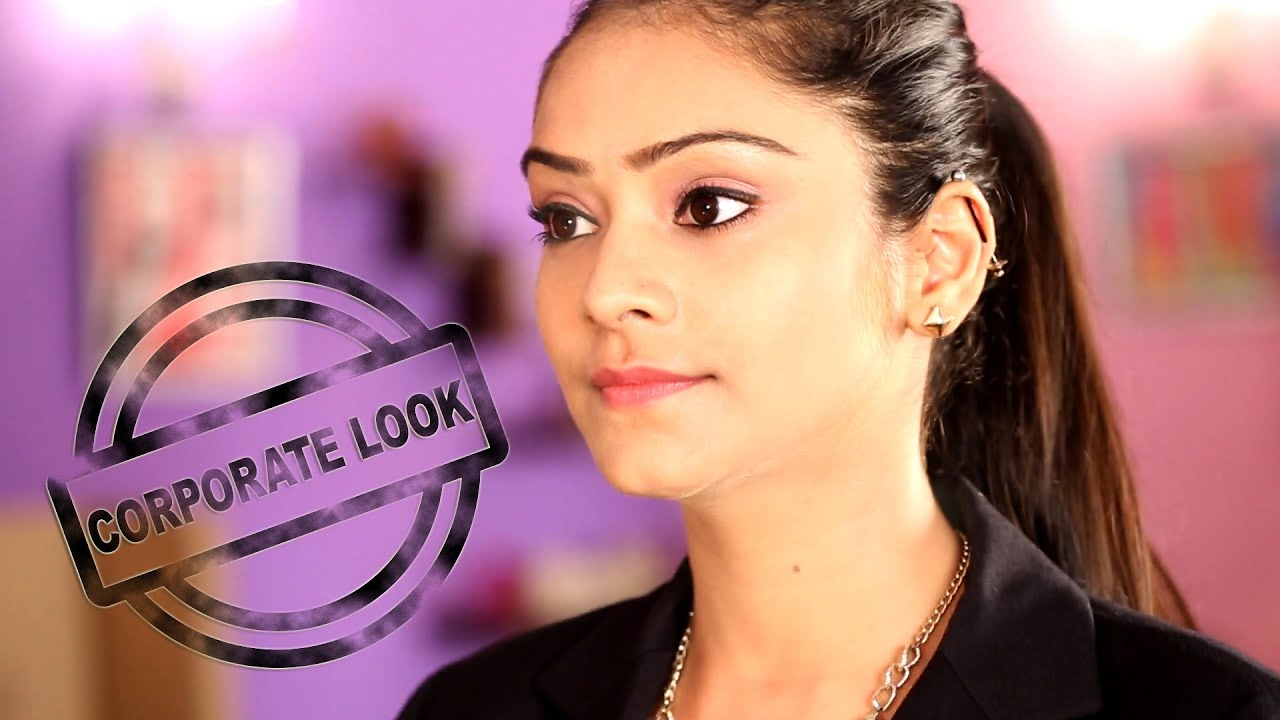 Corporate look perfect the corporate makeup look easy corporate look perfect the corporate makeup look easy corporate look youtube baditri Choice Image