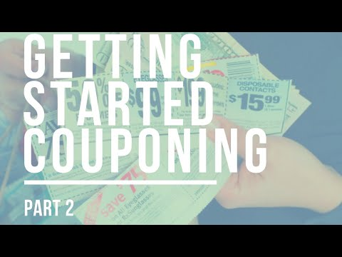 Introduction to Couponing: Getting Started Part 2