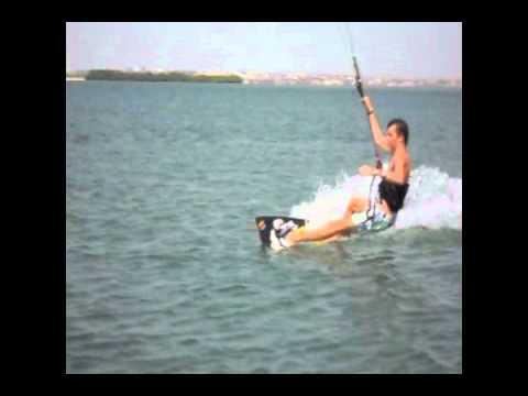 "kite surf in angola ""paradise island"""