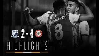 2018/19 HIGHLIGHTS: Southend United 2-4 Brentford (Carabao Cup)