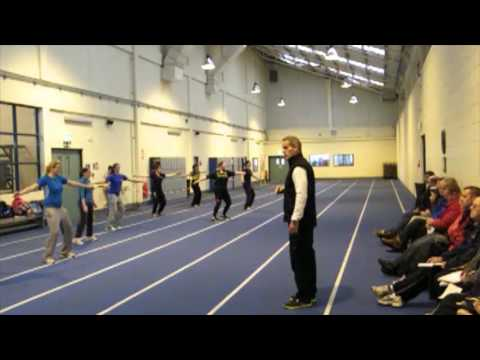 Discus - The Sprint & Hitting the Middle Square
