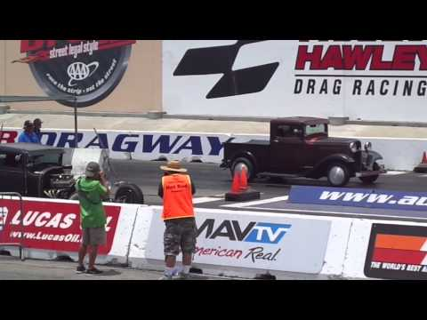 Antique nationals, Sunday at Fontana drags