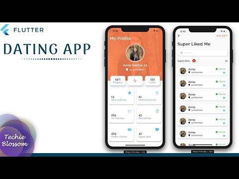Dating App   Flutter UI