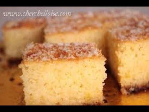 recette-gÂteau-marocain-بسبوسة-بمكونات-بسيطة